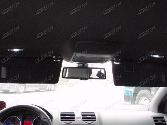 Volkswagen - GTi - interior - led - lights - 7